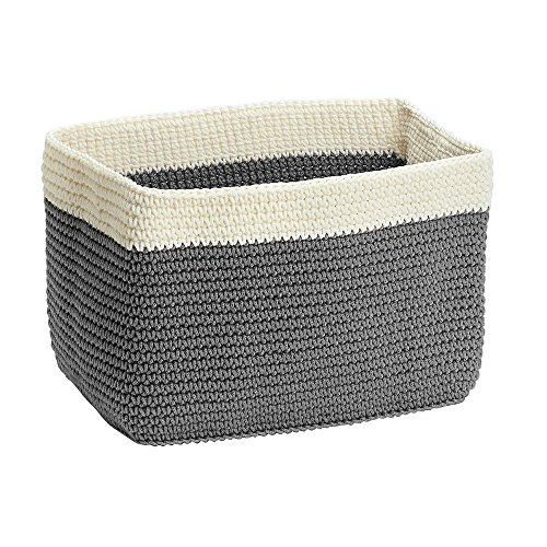 knitted basket - 1