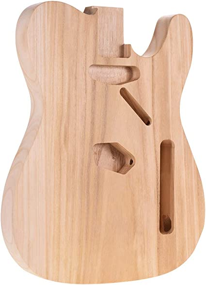 Bedler TL-T02 Unfinished Electric Guitar Body Sycamore Wood Blank Guitar Barrel for TELE Style Electric Guitars DIY Parts