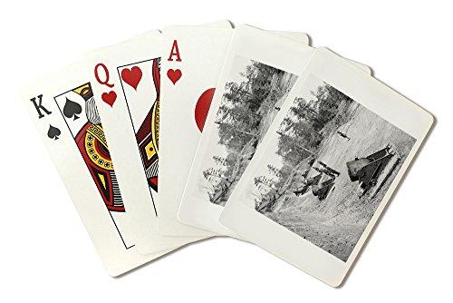 Yorktown, VA - Seacoast Mortars Civil War Photograph (Playing Card Deck - 52 Card Poker Size with Jokers)
