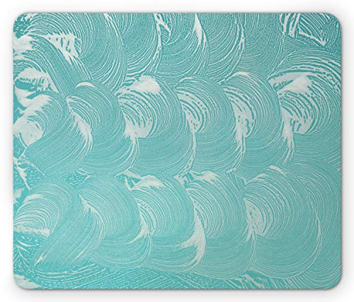 - Lunarable Bubble Mouse Pad, Foam and Soap Carbonated Clean Fresh Hygiene Purity Shampoo Design, Standard Size Rectangle Non-Slip Rubber Mousepad, Pale Cadet Blue and Seafoam