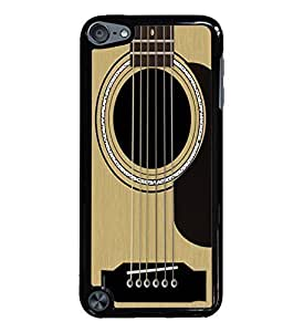 Guitar Black Hardshell Case for iPod Touch 5G iTouch 5th Generation