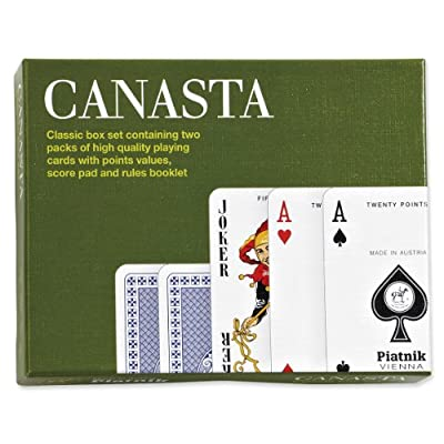 Piatnik Canasta Card Game: Toys & Games