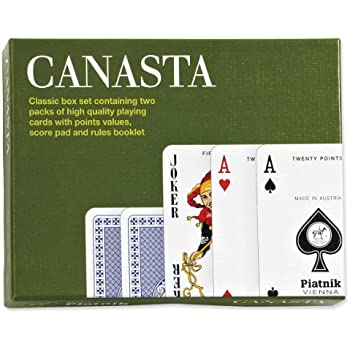 Amazon.Com: Canasta Card Game: Toys & Games