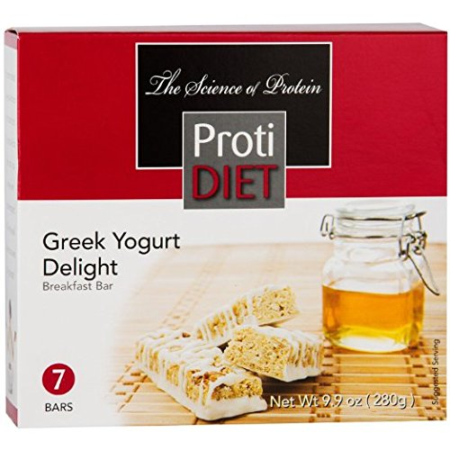ProtiDiet Protein Bar - Greek Yogurt Delight (7/Box)