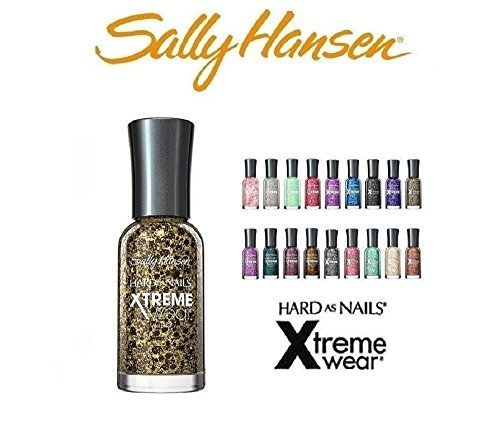 10 Sally Hansen Hard as Nails Xtreme Wear 10 Fingernail Polish's All Different Colors No Repeats ()