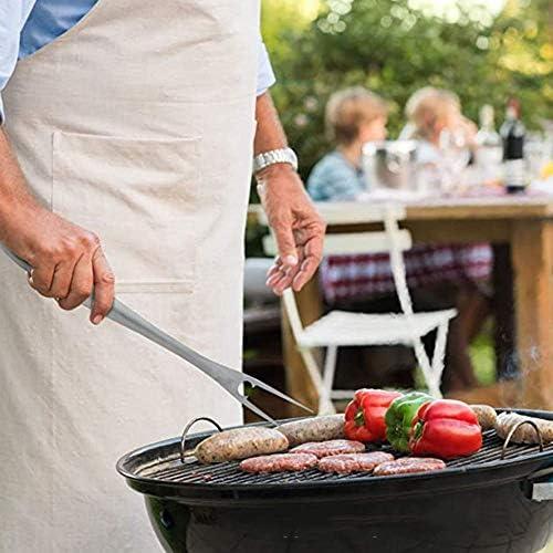 Barbecue en plein air Set Portable de 3 ensembles d'outils barbecue en acier inoxydable Barbecue