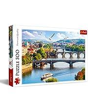 Trefl Prague Shaped Puzzle - 500 Pieces