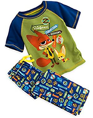 Zootopia 2 Piece Sleep Set for Boys
