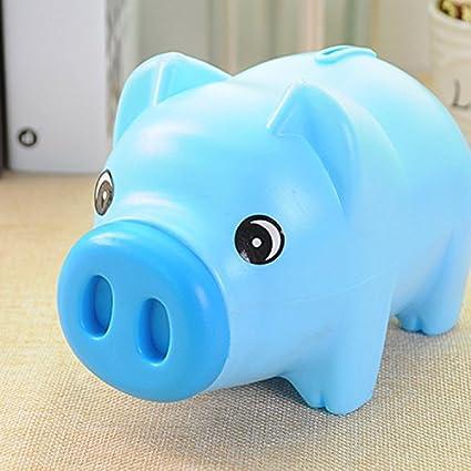 P-H Piggy Bank Piggy Bank de plástico a Prueba de Caídas ...