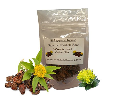 Organic Rhodiola Roots (rhodiola rosea) Dried & Cut (25gr)