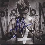 Justin Bieber signed CD