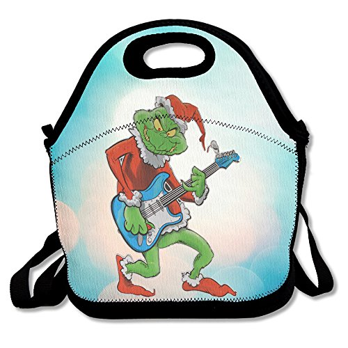 BigBang Dr Seuss How The Grinch Stole Christmas Lunch Tote Bag Lunch Box Neoprene Tote For Kids And Adults For Travel And Picnic School