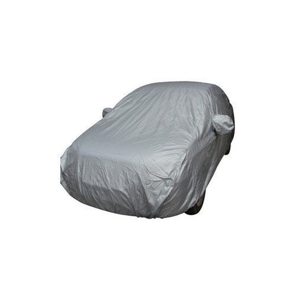 Kkmoon Full Car Cover Indoor Outdoor Sunscreen Heat Protection Dustproof Anti-UV Scratch Resistant Sedan Universal Suit M