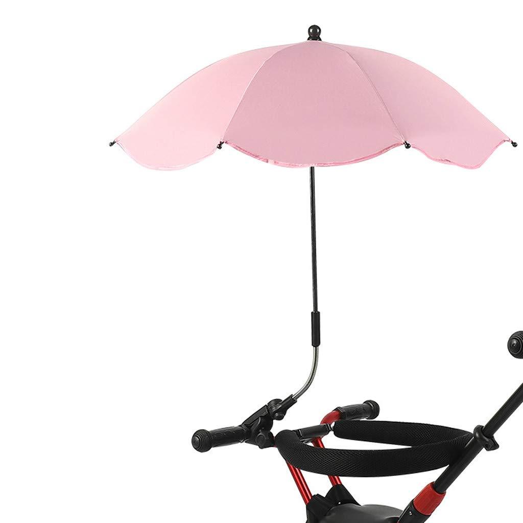 Cochecito de beb/é Cochecito Buggy Shade Stroller Parasol sombrilla sombrilla Paraguas con Soporte Universal Dkings Universal Umbrella Holder extra/íble y Paraguas