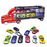 vinmax Truck Sets Alloy Transport Car Carrier Toys 13 Pcs / Set Children Birthday New Years Gaming Play Toys Gifts