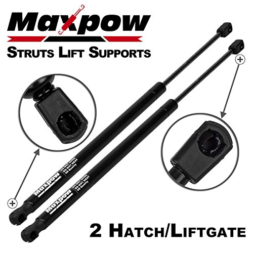 Maxpow 6137 Compatible With Nissan Xterra 2005 2006 2007 2008 2009 2010 2011 2012 2013 Rear Tailgate Hatch Lift Supports Struts Shocks Dampers 2Pcs