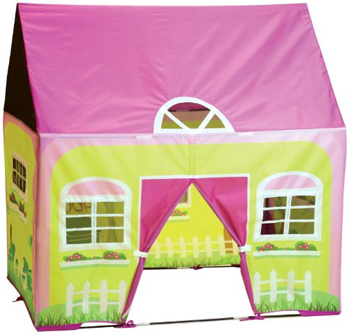 Garden Playhouse House Kids - Pacific Play Tents Kids Cottage Play House Tent Playhouse for Indoor / Outdoor Fun - 50
