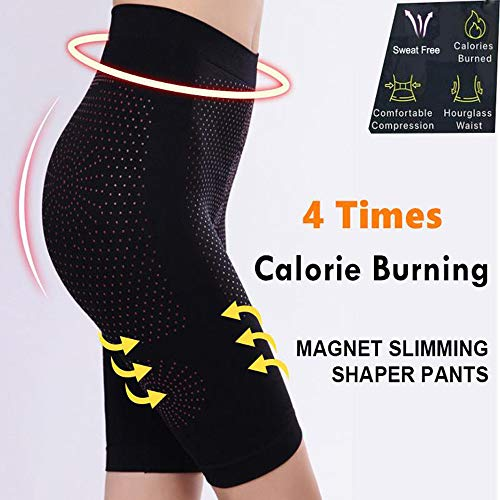 (Beyonds Women Sauna Weight Loss Slimming Neoprene Pants Hot Thermo Sweat Leggings, Charming Body Curve and Slim Thighs One Size (Black))