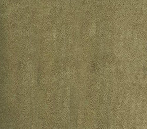 Velvet Suede Fabric Cotton Backing Drape Upholstery BELLA 33 TAUPE / 58