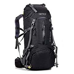 Features:                                            70l High-Capacity: Main compartment, two zipped front pocket, sleeping bag compartment, mesh side pockets, enough to bring a tent, roll up blanket, cooking gear, etc.to keep...