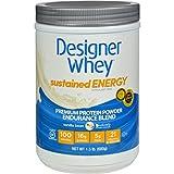 Cheap Designer Whey Protein Powder – Sustained Energy – Vanilla Bean – 1.5 lb