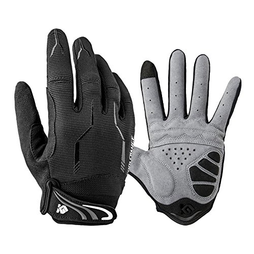 Full Finger Bike Gloves Unisex Outdoor Touch Screen Cycling Gloves Road Moutain Bike Bicycle Gloves XL