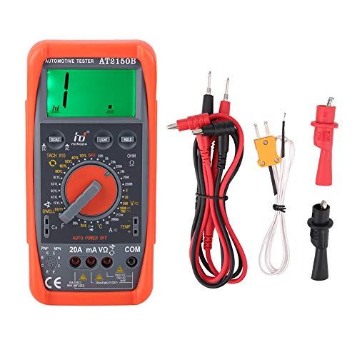 Akozon Tachometer Meter AT2150B Handheld Automotive Tachometer Meter/LCD Display Digital Multimeter by Akozon (Image #6)