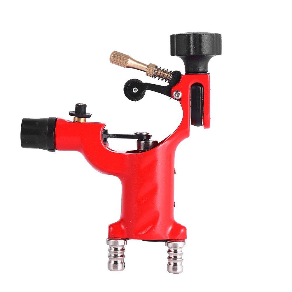 Dragonfly Rotary Tattoo Shader Power Supply Tatoo Motor Gun Tattoo Machine Kits(Not Include Needle) (Red) Yosoo