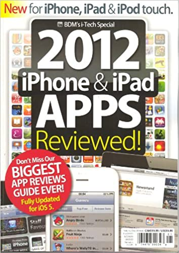Amazon.com: 2012 iPhone & iPad APPS Reviewed Volume # 1 (BDM ...