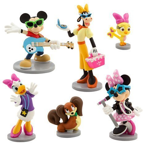 Minnie M Rock Star Figurine Play Set