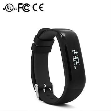 Bracelet connecté Bluetooth compteur calorie podomètre fitness Montres bracelet,Fitness et Musculation mesure de la