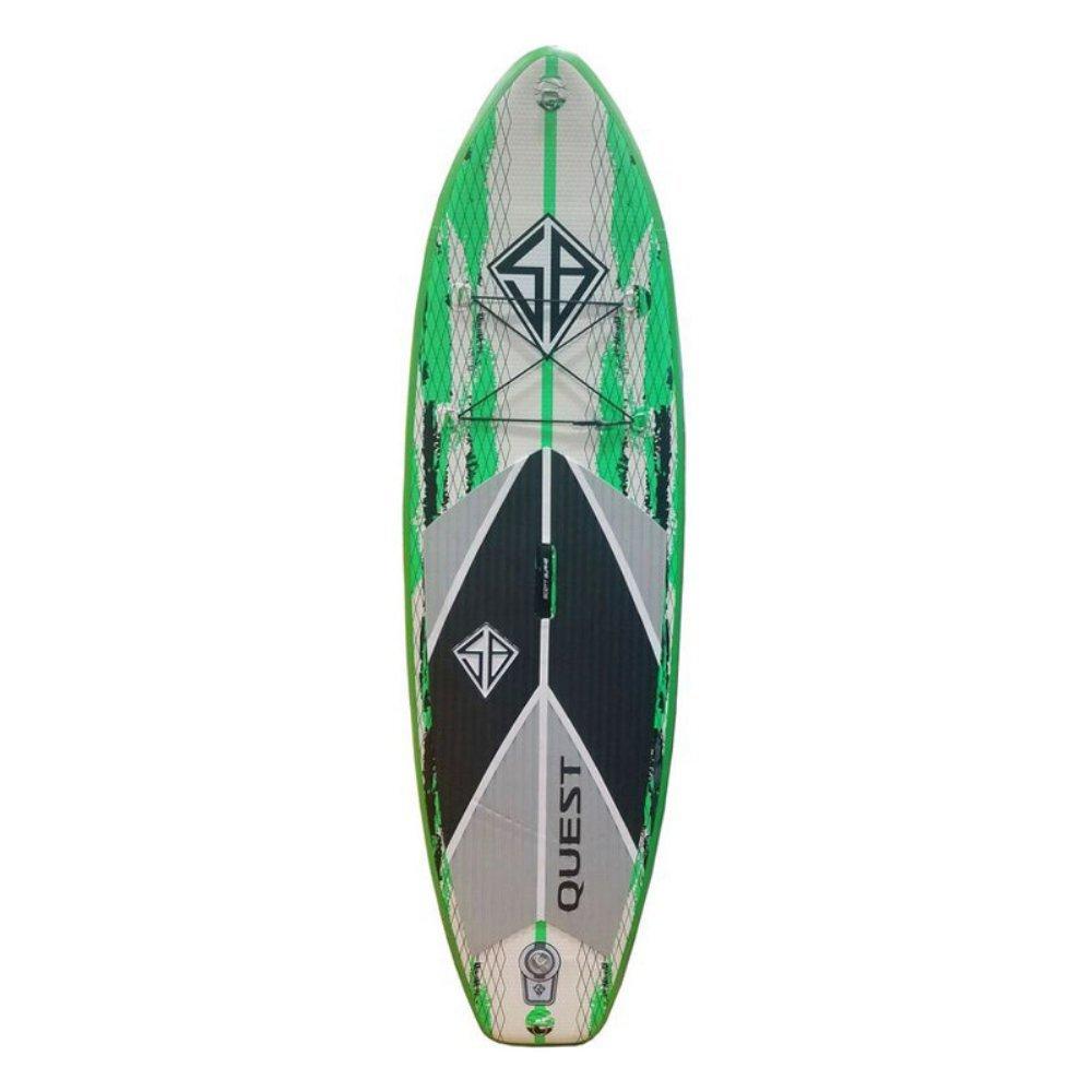 Amazon.com : Scott Burke Quest Series 8ft Inflatable Paddle ...