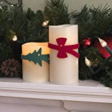 """VELCRO Brand - Holiday ONE-WRAP Shapes - 12"""" x 1/2"""" Ties, 3ct - Bow"""