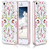 iPhone SE Case, iPhone 5S case, iphone 5 case, FYY [Colorful Series][Slim Fit] Clear Case with Design for Apple iPhone SE/5S/5 Fashion 5