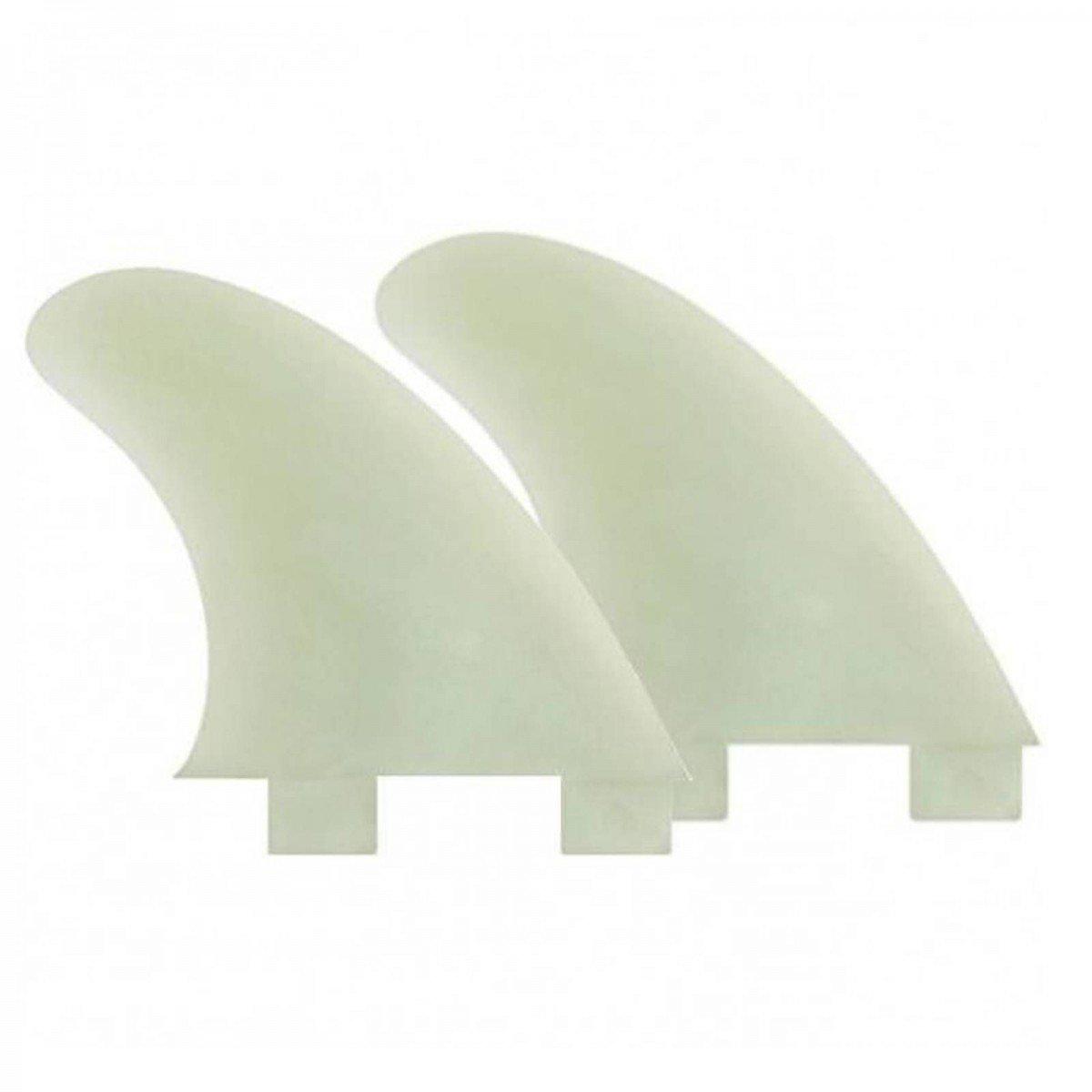KOALITION, 2 pinne GX Side Bite, per tavola da surf, di colore naturale, adatte per sistema FCS