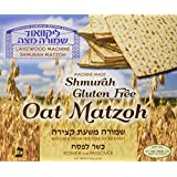 Lakewood Matzohs Gluten Free Oat Machine Shmurah Matzah with Kosher for Passover and The Seder, 1 lb