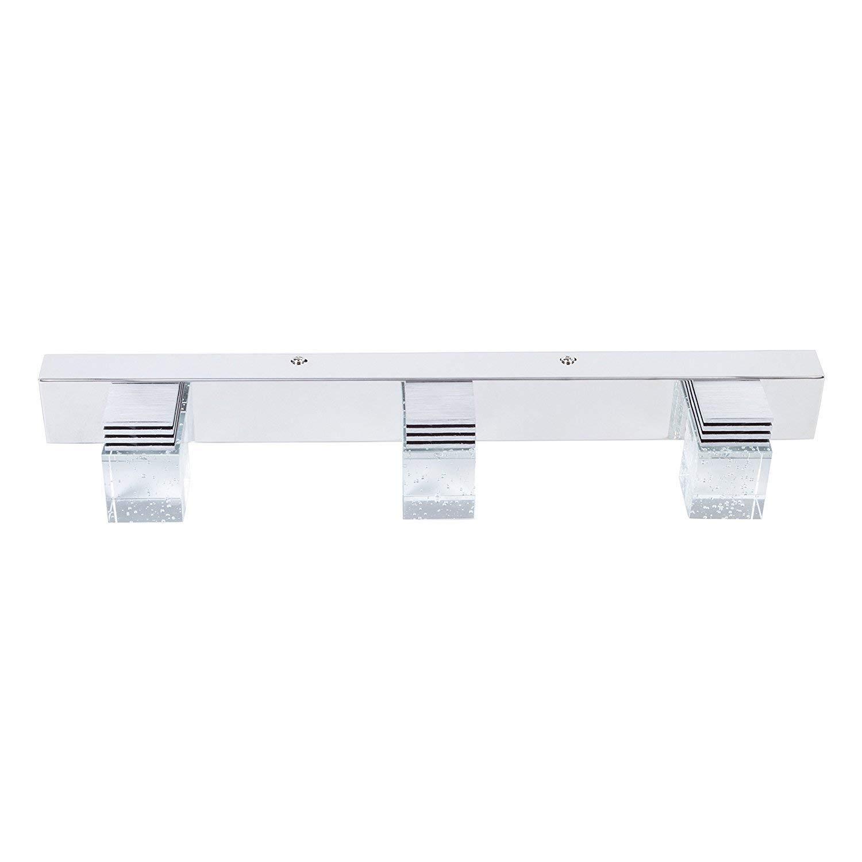 9w Cool White Jq5720 Lightess Bath Vanity Lights 3 Light Bathroom Light Fixtures Led Mirror Lighting Crystal Make Up Lamp