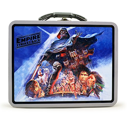 Lucas Films Star Wars Empire Strikes Back Tin Lunch Box
