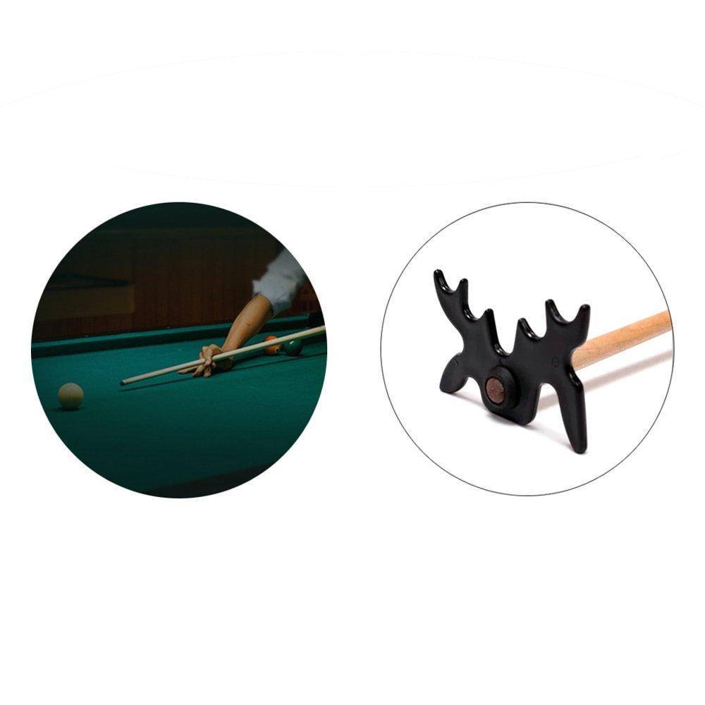 Pool Billard Cue Rest Stick 9 Positions Bridge Head Elemart Slip-On Portable Moosehead Bridge Head