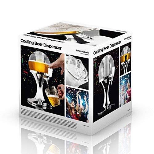 Dobo - Dispensador de bebidas de 3,5 litros con forma esférica, refrigerado: Amazon.es: Hogar