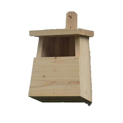 Jaulas para pájaros Jaula de Pájaros de Madera Maciza Jaula de ...
