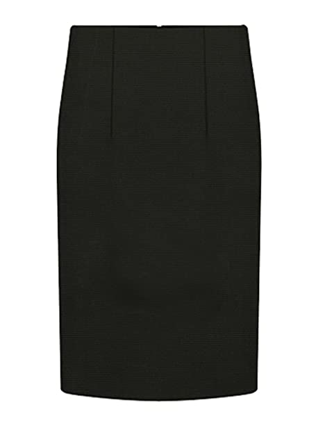 a3f088ee463 CHARLES RICHARDS CR Women s High Waist Knee Length Pencil Midi Skirt Work  Skirts Bodycon Skirts Black