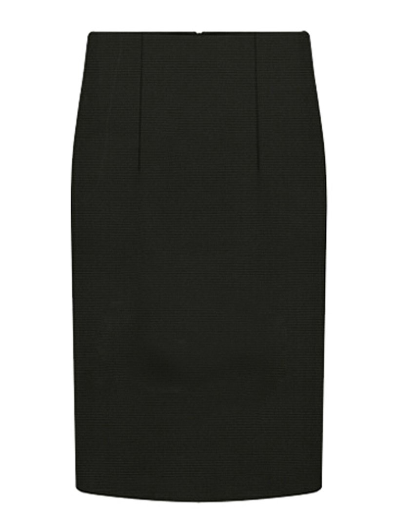 CHARLES RICHARDS CR Women's High Waist Pencil Midi Skirt