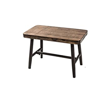 Lyx Petit Banc Table Basse En Bois Massif Tabouret Adulte Petit