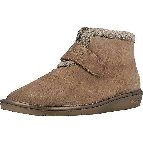 Zapatillas de Estar por casa de Mujer, Color marrón, Marca NORDIKAS, Modelo Zapatillas De Estar por Casa De Mujer NORDIKAS 280 4 Marrón: Amazon.es: Zapatos ...