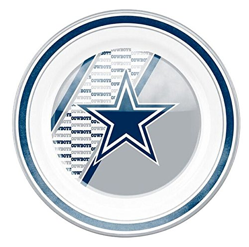 Dinner Cowboys Plates (Dallas Cowboys Dinner Party Plates 10