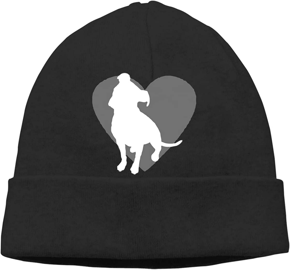 GDSG5/&4 Pit Bull Heart Unisex Thick Sports Skull Cap