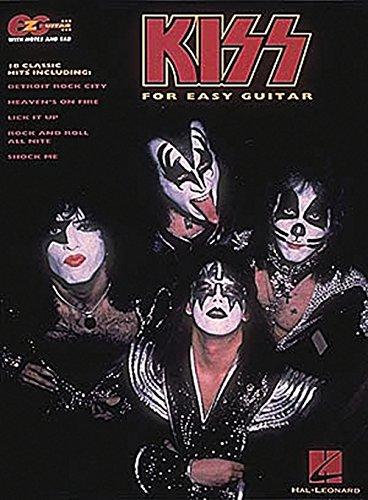 Hal Leonard KISS Easy Guitar Tab (Roll Easy Guitar Book)