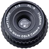 Holga 60mm f/8, Manual Focus Lens for Nikon DSLR Camera