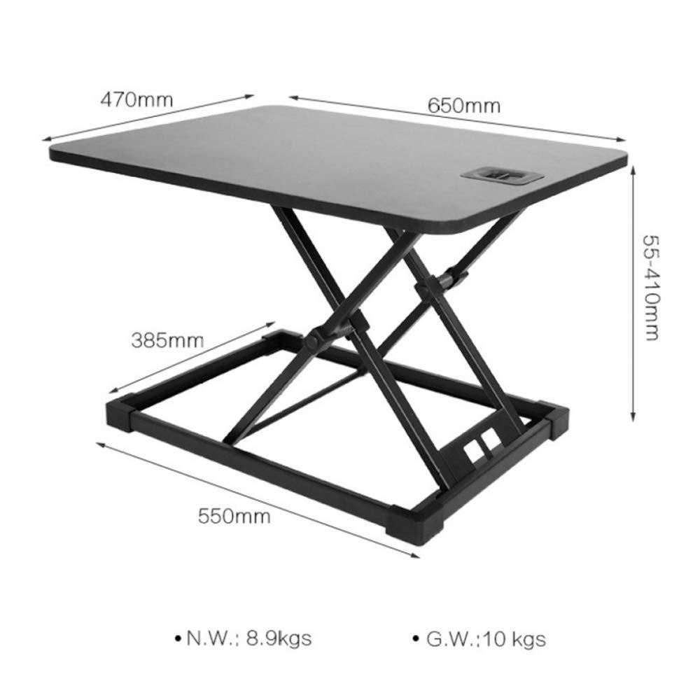 LIULIFE Laptop Desktop Table Converter Sit-Stand Desk Height Adjustable Ergonomic Office Workstation Riser for PC Computer Screen by LIULIFE (Image #7)
